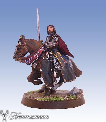 Aragorn auf Pferd