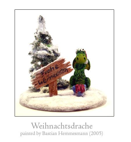 Weihnachtsdrache