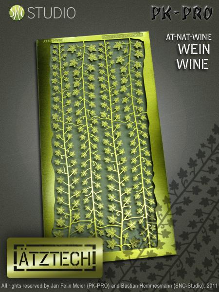Wein und Riffelblech