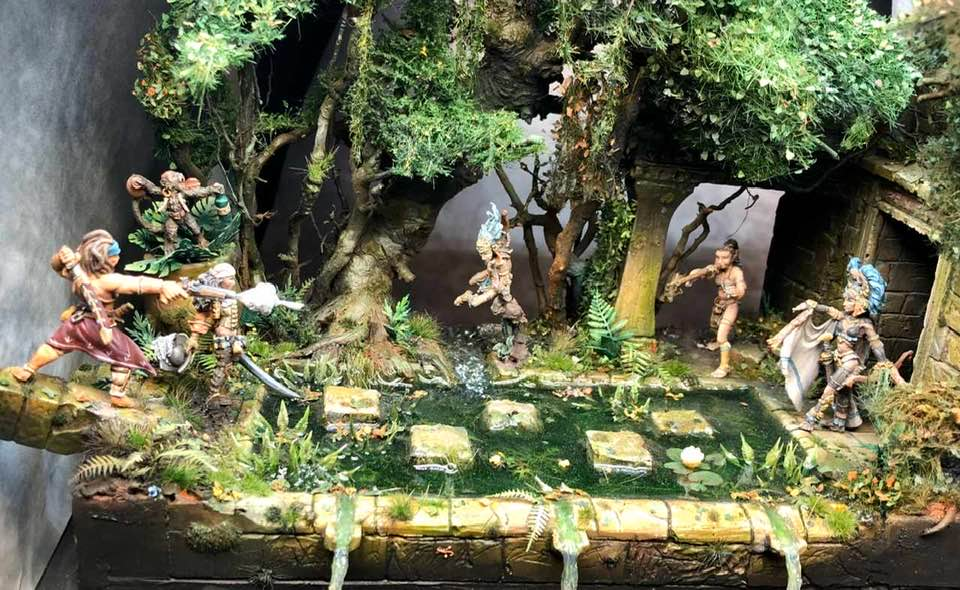 Kampf im Dschungel